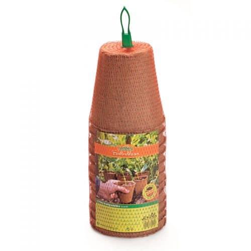 12 Pots de semis biodégradables ronds