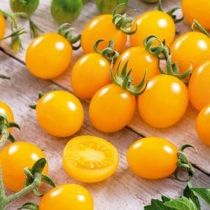 Tomate Cereza Amarilla