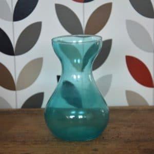 Vase classique bleu turquoise