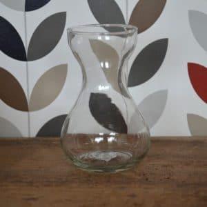 Vase classique transparent