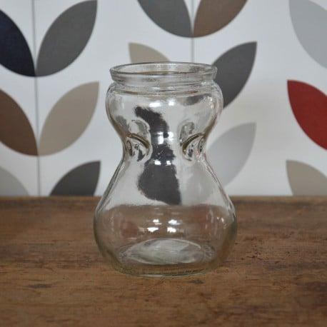 Vase rustique transparent